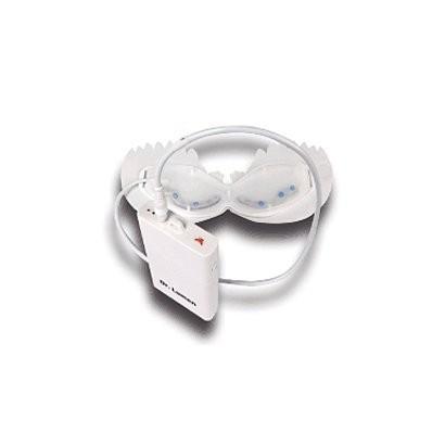 アイマスク 目元ケア 美容液用品と併用 美容成分の吸収・浸透を補助  シワ取り 目のくま解消 BLUE LEDアイマスク LED-EM-BR006|allbuy|02