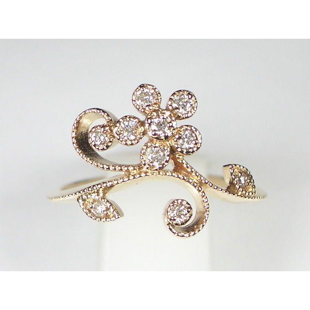 K18PGダイヤ リング alljewelry