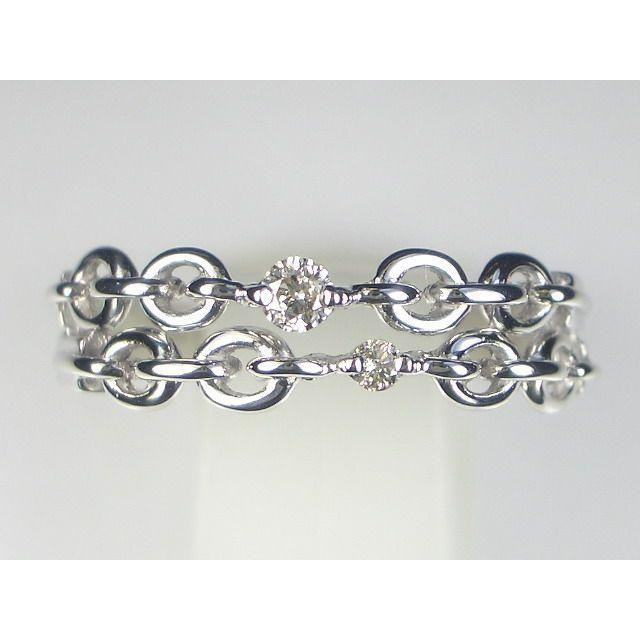 K18WGダイヤ リング|alljewelry