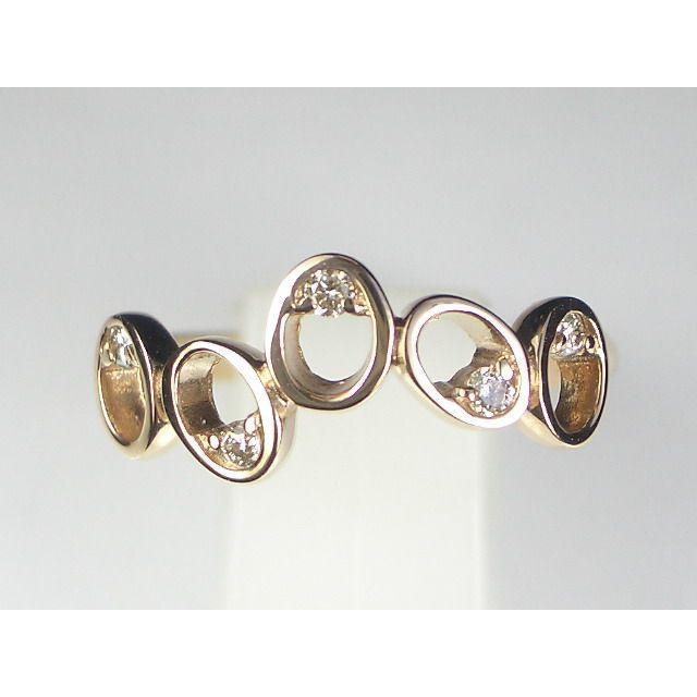 K18PGダイヤ リング|alljewelry