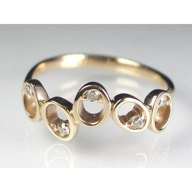 K18PGダイヤ リング|alljewelry|04