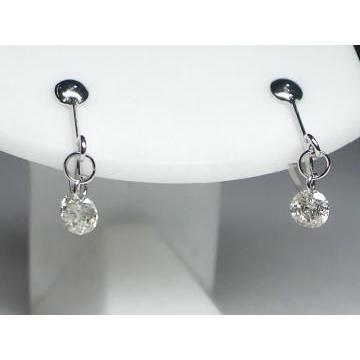 【メール便無料】 K18WG ホワイトゴールドダイヤモンドイヤ リング 0.3CT, あなたの近くのお庭専門店:0ba9e4f8 --- airmodconsu.dominiotemporario.com