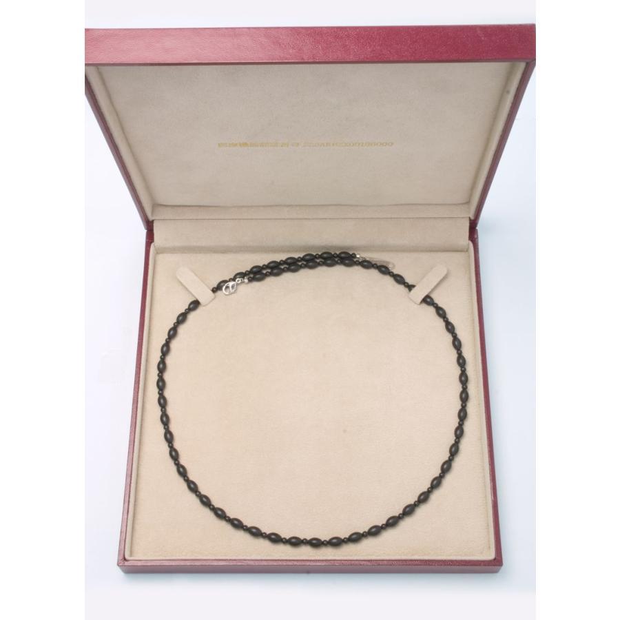 ブラックシリカ ネックレス ソレールSV [60cm] 厚生労働省認可医療機器ジュエリー (認証番号:223AKBZX00188000)|alljewelry|03