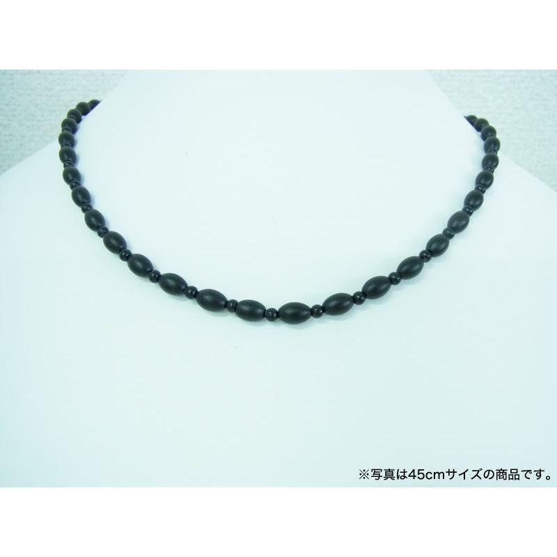 ブラックシリカ ネックレス ソレールSV [60cm] 厚生労働省認可医療機器ジュエリー (認証番号:223AKBZX00188000)|alljewelry|05