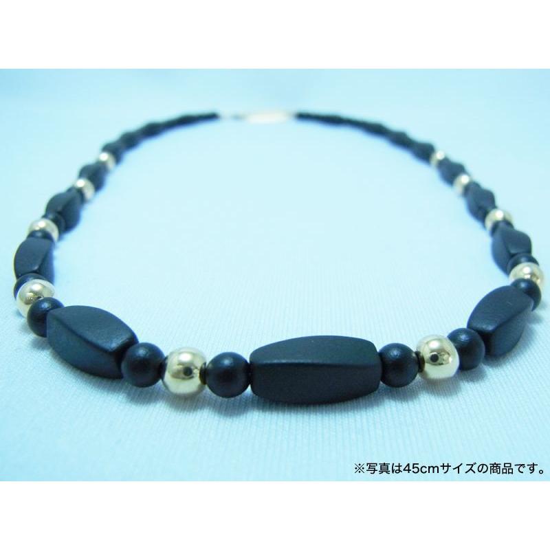 ブラックシリカ ネックレス シレックスCR [45cm] 厚生労働省認可医療機器ジュエリー (認証番号:223AKBZX00186000)|alljewelry|02