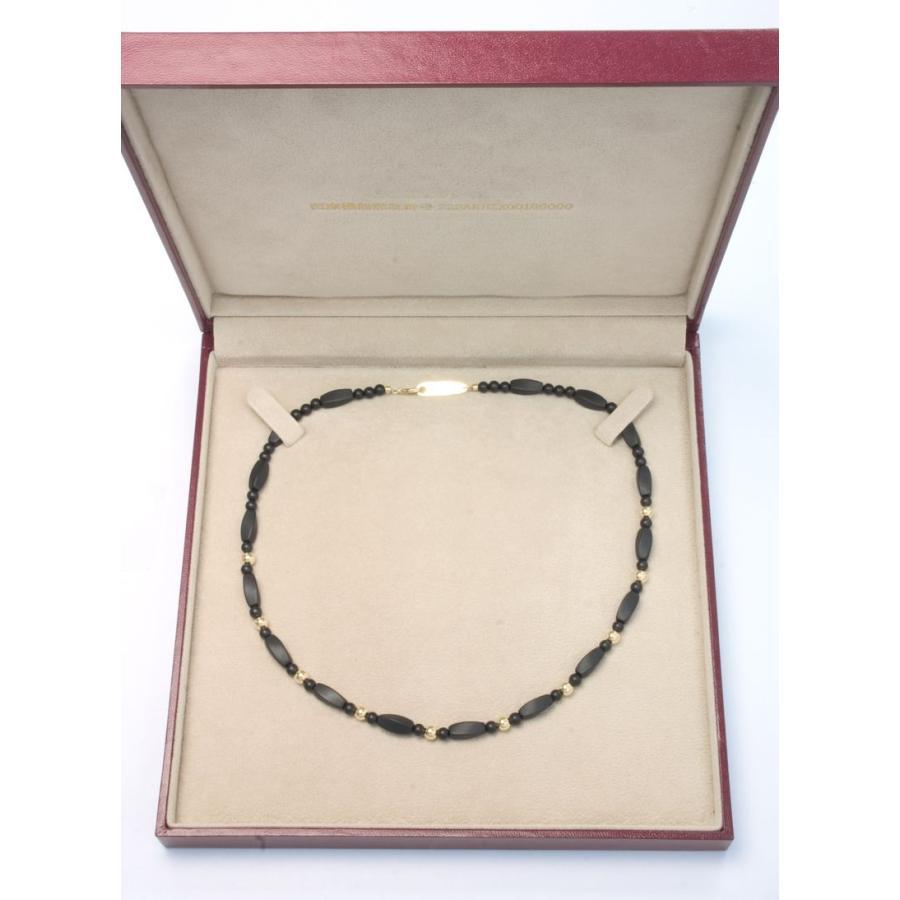 ブラックシリカ ネックレス シレックスCR [45cm] 厚生労働省認可医療機器ジュエリー (認証番号:223AKBZX00186000)|alljewelry|04