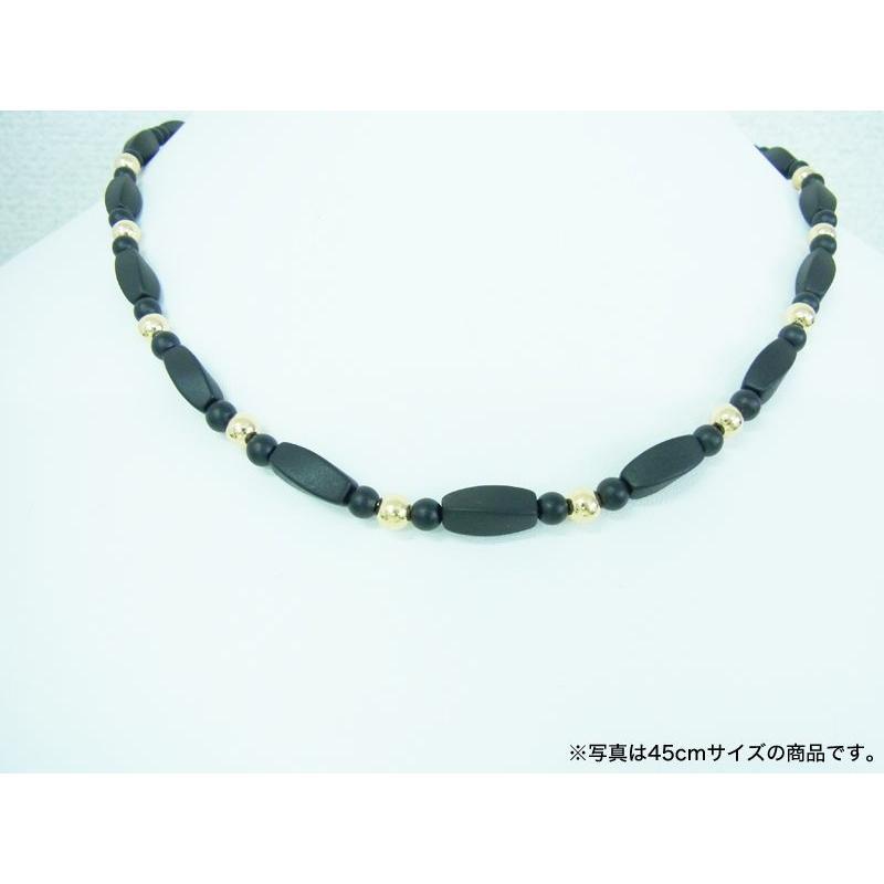 ブラックシリカ ネックレス シレックスCR [45cm] 厚生労働省認可医療機器ジュエリー (認証番号:223AKBZX00186000)|alljewelry|06