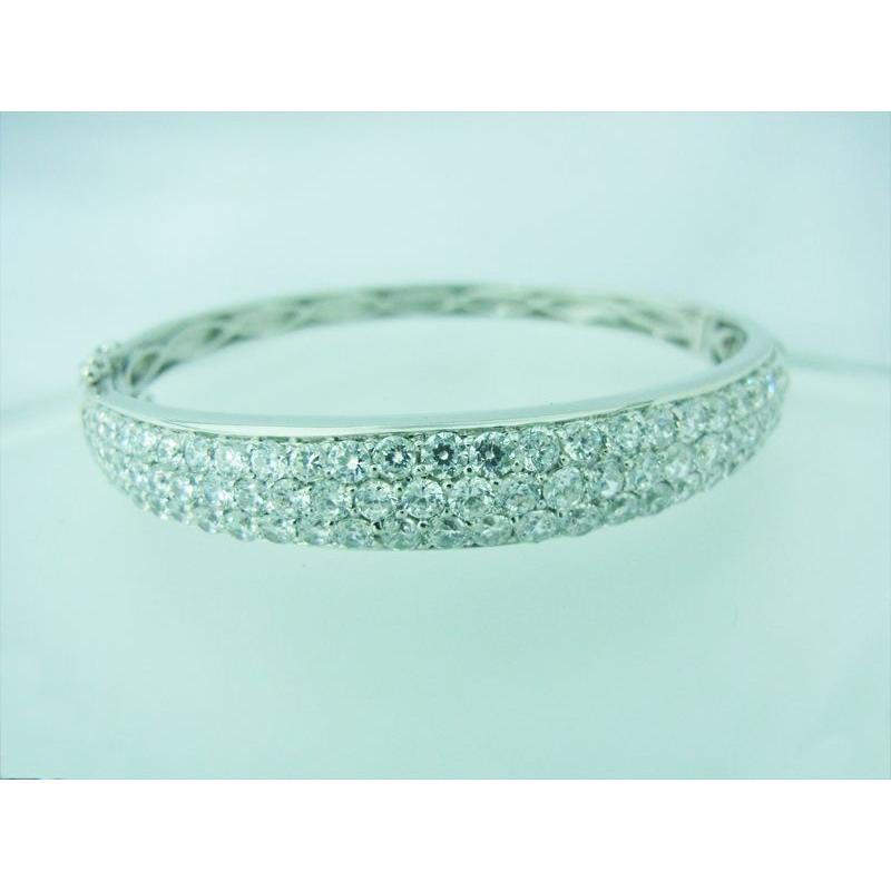 CZダイヤ(キュービック・ジルコニア)0.98カラット ブレスレット|alljewelry