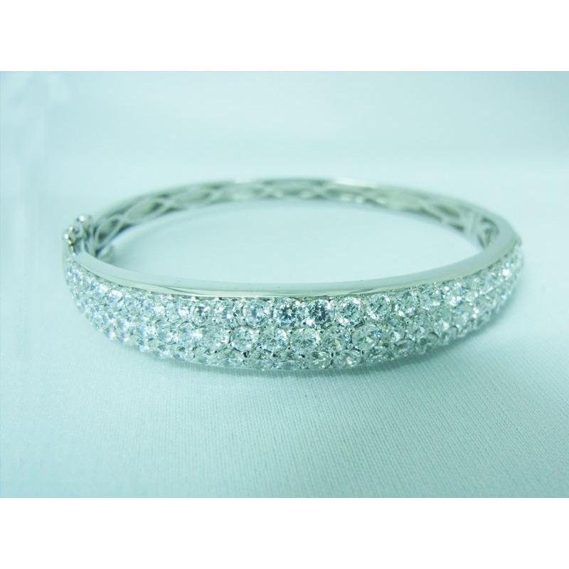 CZダイヤ(キュービック・ジルコニア)0.98カラット ブレスレット|alljewelry|03