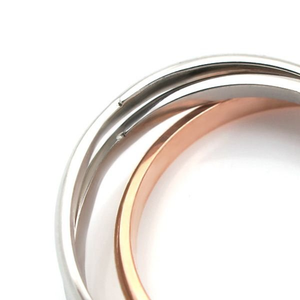 ステンレス 3連リング 3カラー リング|alljewelry|03