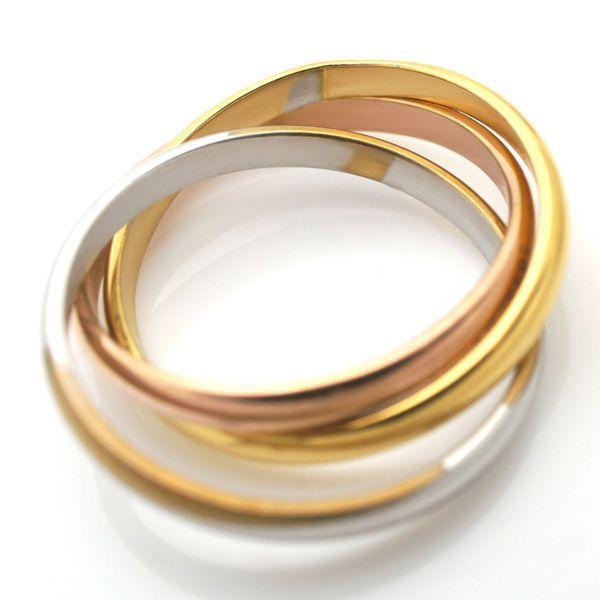 ステンレス 3連リング 3カラー リング|alljewelry|04