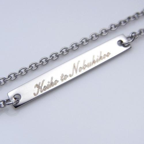 ステンレス プレートチェーン 45cm【即納】|alljewelry|04
