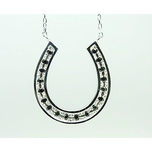 【10%OFF】 K18WGブラックダイヤペンダントネックレス, 買付け屋:818dc114 --- levelprosales.com