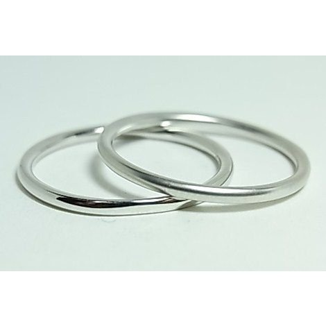 K10ホワイトゴールド シンプルペアリング alljewelry 02