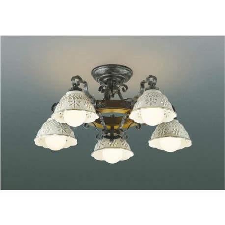 ☆KOIZUMI LEDイルムシャンデリア 簡易取付式 LED35.0W (ランプ付) 電球色 2700K AA42865L