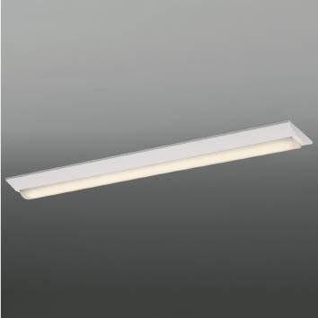 ☆KOIZUMI LEDベースライト Hf32W×1灯・高出力相当 (ランプ付) 電球色 3000K 専用調光器対応 AH92026L+AE49466L