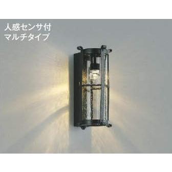 ☆KOIZUMI LED防雨型ブラケット 白熱電球60W相当 (ランプ付) 電球色 2700K AU42434L