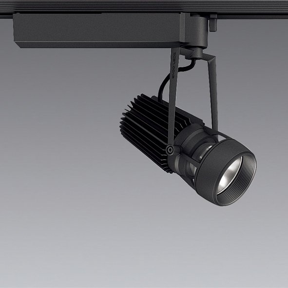 ☆ENDO LEDスポットライト 配線ダクトレール用 CDM-TC70W相当 3000K Ra96 狭角 黒 ERS5928B (ランプ付)