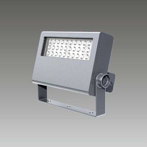 ☆東芝 屋外用LED小形角形投光器 昼白色 狭角形 35Wコンパクトメタルハライド器具相当 メタリックシルバー LEDS-02908NN-LS9 ※受注生産品