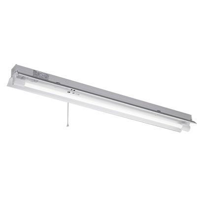 ☆東芝 LEDベースライト 防湿・防雨形 反射笠非常用照明器具 Jタイプ LDL40×1灯昼白色 LEDランプ付 LEDTJ-41187K-LS9(LEDTJ41085MLS9+R4182MLSJ)