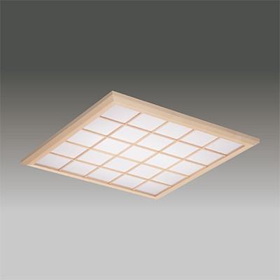☆東芝 LEDベースライト TENQOOスクエア パネルタイプ FHP45×3灯器具相当 FHP45×3灯器具相当 電球色 埋込形 和風格子パネル 埋込穴□600mm LEKR760901XL-LD9 ※受注生産品