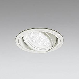 ☆ODELIC LEDベースダウンライト CDM-T35W相当 オフホワイト 27° Φ125mm 白色 調光非対応 XD258141F ※受注生産品