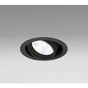 ☆ODELIC LEDユニバーサルダウンライト JR12V50W相当 ブラック 20° Φ100mm 白色 4000K 調光器対応 XD258742 ※受注生産品