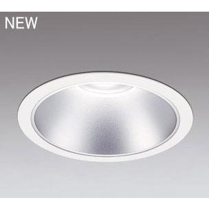 ☆ODELIC LEDベースダウンライト オフホワイト 35°防雨形 Φ250mm 昼白色 5000K 調光器対応 XD301101 (電源・調光器・信号線別売) ※受注生産品