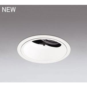 ☆ODELIC LED高効率ユニバーサルダウンライト CDM-T35W相当 オフホワイト オフホワイト オフホワイト 23° Φ125 温白色 調光器対応 XD402178 (電源・調光器・信号線別売) f0d