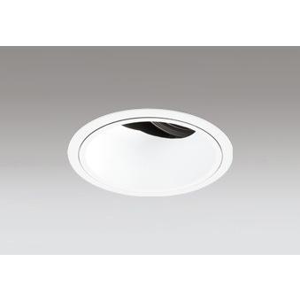 ☆ODELIC LED高彩色ユニバーサルダウンライト CDM-T70W相当 オフホワイト 34° Φ125mm 温白色 3500K 調光器対応 XD402472H (電源・調光器・信号線別売)
