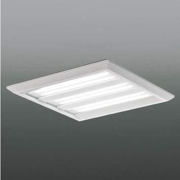 ☆KOIZUMI LEDベースライト FHP45W×4相当 (ランプ付) 白色 4000K 専用調光器対応 XD90161L+XE40720L