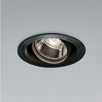 ☆KOIZUMI LEDユニバーサルダウンライト φ100 JR12V50W相当 (ランプ・電源付) 温白色 3500K XD91144L+XE91660E