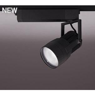 ☆ODELIC LEDスポットライト 高効率タイプ 配線ダクトレール用 CDM-T150W相当 ブラック 14° 44VA 白色 4000K 調光非対応 XS411102