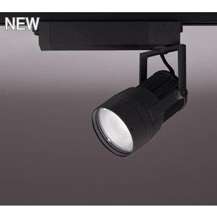 ☆ODELIC LEDスポットライト 高効率タイプ 配線ダクトレール用 CDM-T150W相当 ブラック 51° 44VA 温白色 3500K 調光非対応 XS411122