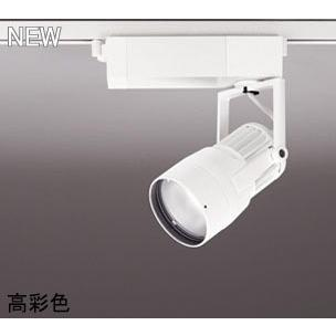 ☆ODELIC LEDスポットライト 高彩色タイプ 配線ダクトレール用 CDM-T35W相当 オフホワイト 14° 29VA 白色 4000K 調光非対応 XS412131H