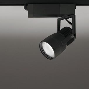 ☆ODELIC 生鮮用LEDスポットライト 配線ダクトレール用 JDR75W相当 ブラック 14° 29VA 3500K 調光非対応 XS412172