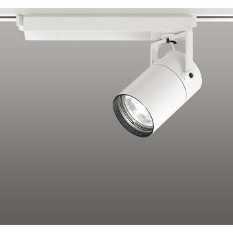 ☆ODELIC LEDスポットライト 高彩色タイプ 配線ダクトレール用 CDM-T70W相当 CDM-T70W相当 オフホワイト 15° 温白色 3500K (専用調光リモコン別売) XS511103HBC