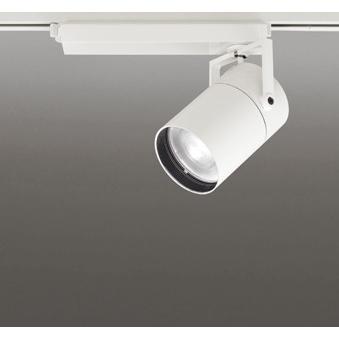 ☆ODELIC LEDスポットライト LEDスポットライト 高彩色タイプ 配線ダクトレール用 CDM-T150W相当 オフホワイト 18° 45VA 白色 4000K (専用調光リモコン別売) XS511131HBC