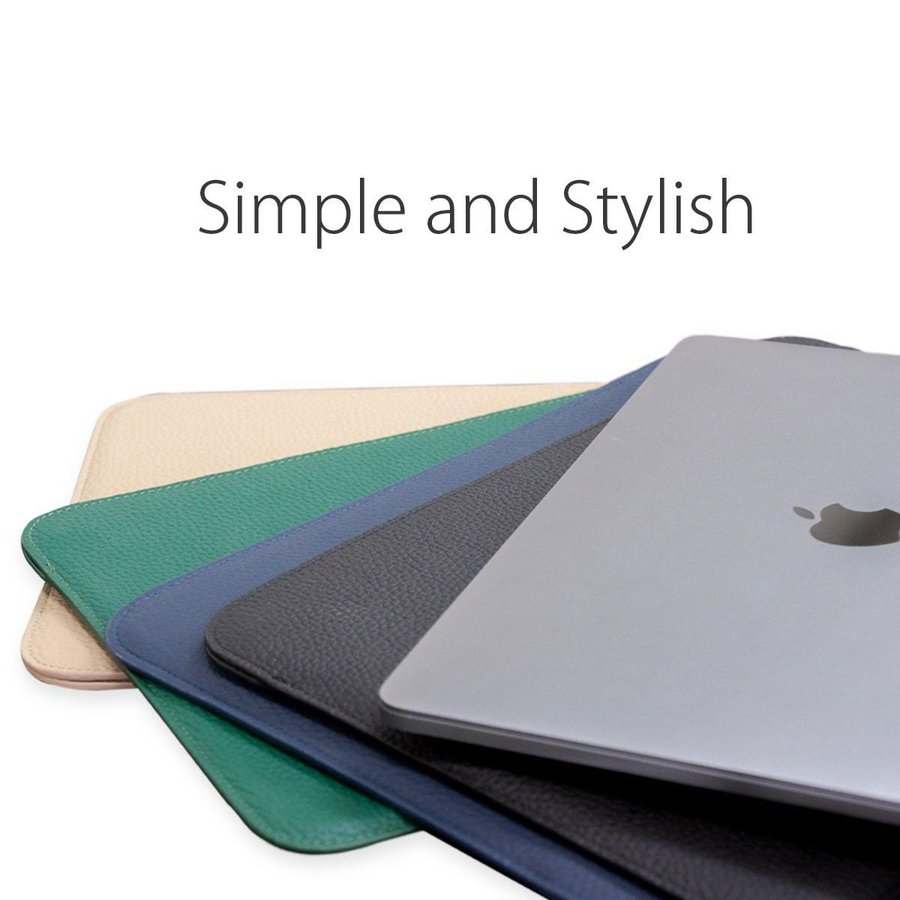 牛革 macbook pro 13 ケース ノートパソコン ケース 13.3 inch インナー ケース レザー カバー マウスパッド 送料無料|allrightleather|04