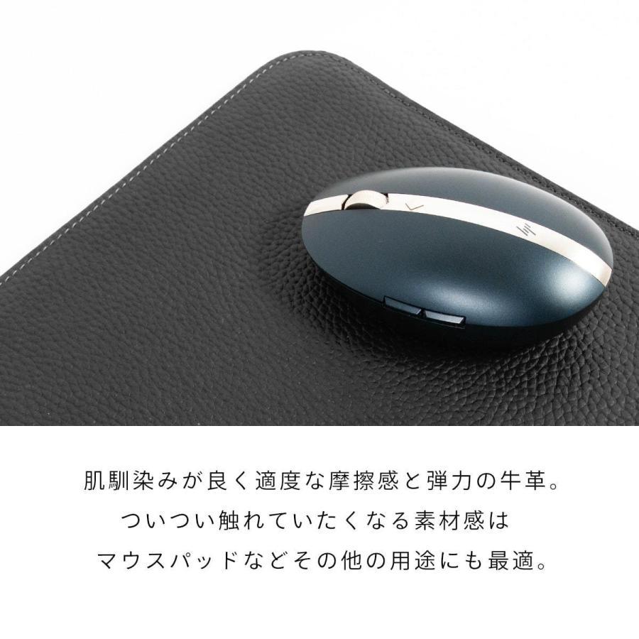牛革 macbook pro 13 ケース ノートパソコン ケース 13.3 inch インナー ケース レザー カバー マウスパッド 送料無料|allrightleather|07