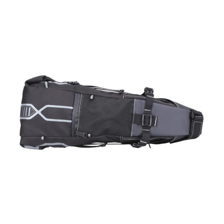 12L大型サドルバッグ自転車バッグ自転車サドルバッグ大型防水仕様バイクパッキング用シートバッグ大容量荷物収納反射加工リアバ allurewebshop 02