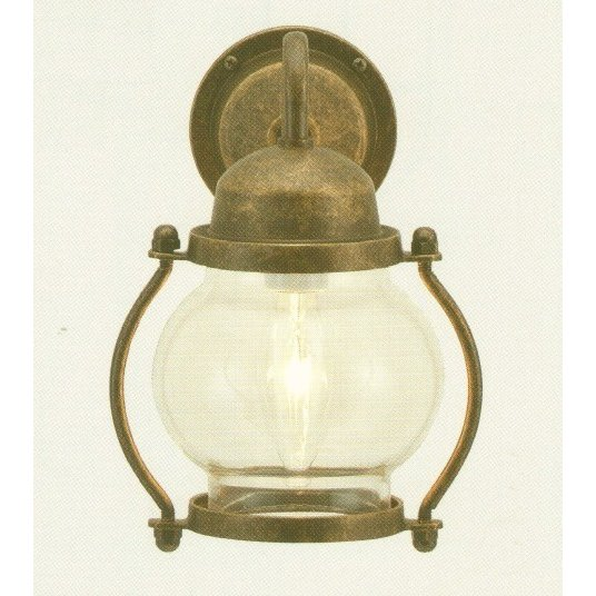 ポーチライト 700451 海風を感じる ミニサイズ マリンライト マリンランプ 玄関灯 室内灯 白熱電球 防雨型