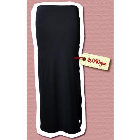 マカマカ タヒチアンブランド hoa 選べる10カラー ロングスカート(サイドスリット入)