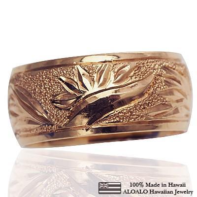 セール特価 ハワイアンジュエリー 結婚指輪 リング 指輪 基本の1.5mm厚 結婚指輪 オーダーメイド 基本の1.5mm厚 指輪 幅8mm 14k ピンクゴールド バレルリング, 加茂町:364ca614 --- airmodconsu.dominiotemporario.com