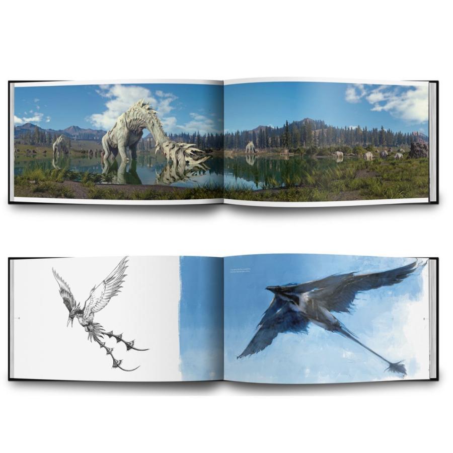 THE ART AND DESIGN OF FINAL FANTASY XV - Standard edition【並行輸入品】|aloha-iceblue|02