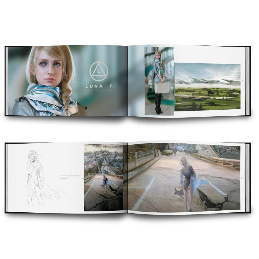 THE ART AND DESIGN OF FINAL FANTASY XV - Standard edition【並行輸入品】|aloha-iceblue|03