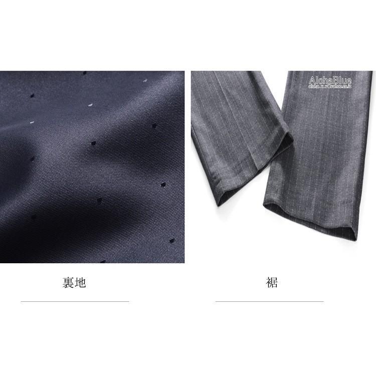 ダブルスーツ メンズ 3ピーススーツ 6つボタン スリーピース スリーピー ビジネススーツ ストライプ柄 細身 スーツ 通勤 紳士 aloha0118 18
