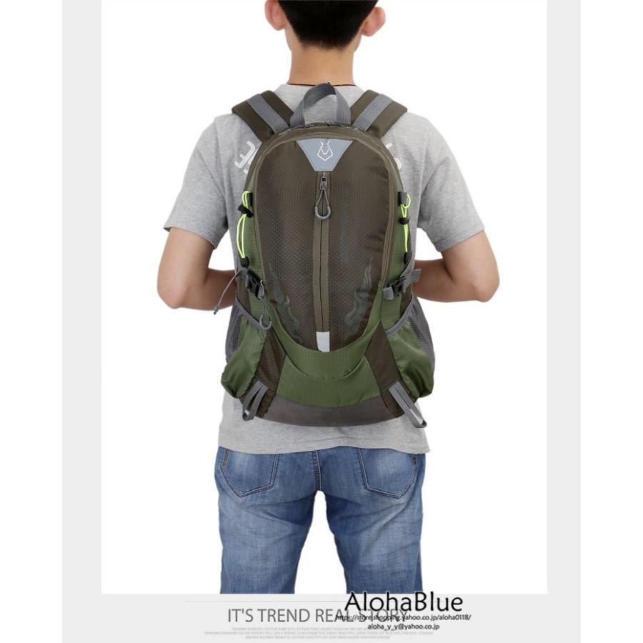リュックサック メンズ リュック バックパック 登山バッグ 登山リュック 大容量 デイパック 旅行 アウトドア バッグ ハイキング 2020|aloha0118|20