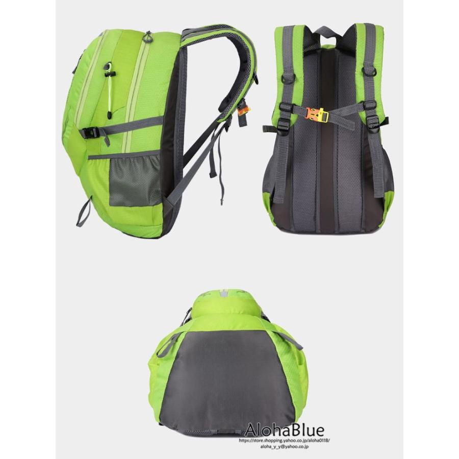 リュックサック メンズ リュック バックパック 登山バッグ 登山リュック 大容量 デイパック 旅行 アウトドア バッグ ハイキング 2020|aloha0118|05