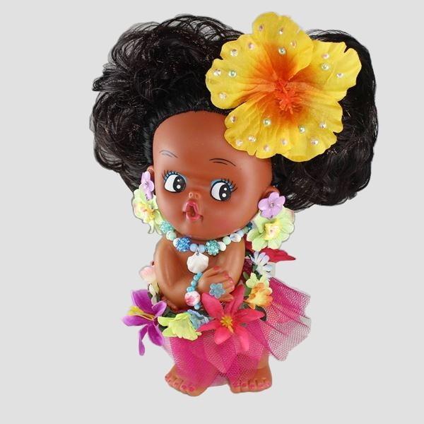 ハワイアン Aloha Moaniオリジナルアロハドール E ハワイアンドール フラドール ハワイアン レイ ハワイ 雑貨 インテリア